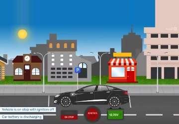 کاهش مصرف انرژی ردیاب خودرو